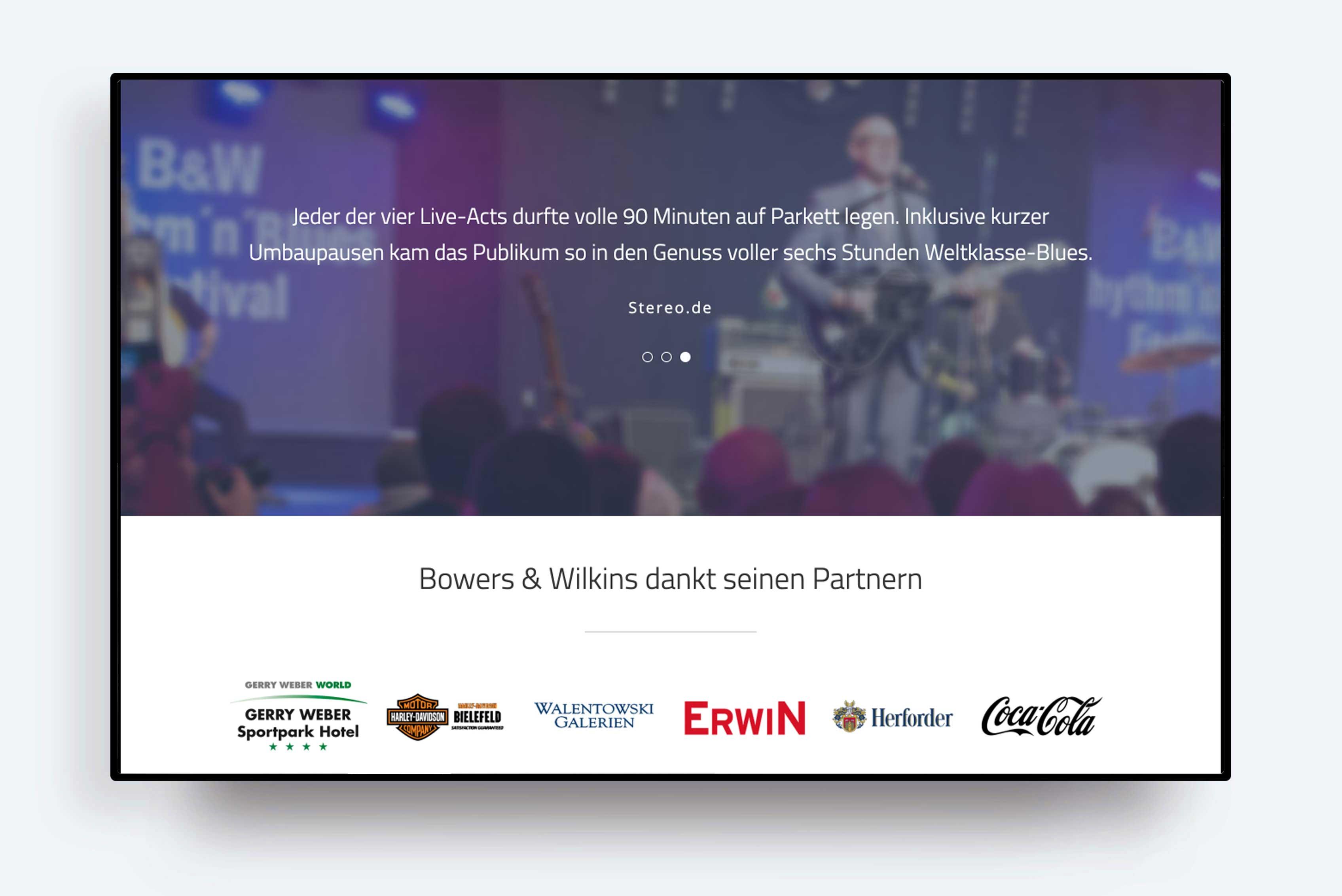 Bowers & Wilkins Rhythm'n'Blues Festivals
